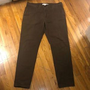 H&M Dark Brown Pants, W36 & L31